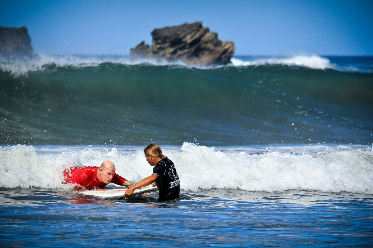 Guiones Surf Lesson